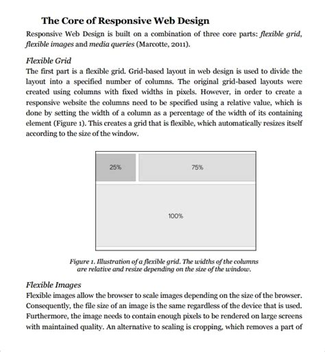 website design proposal template word proposal template free