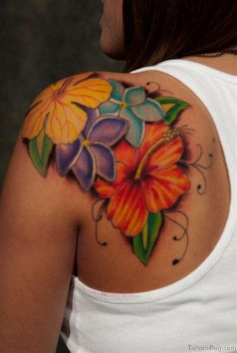flower tattoo designs for shoulder 43 hibiscus shoulder designs
