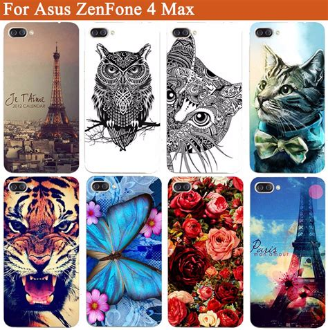 Softcase 4 Tiger for asus zenfone 4 max cover tiger owl painted
