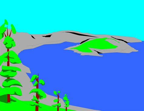 Lake Clipart Free best lake clipart 12768 clipartion
