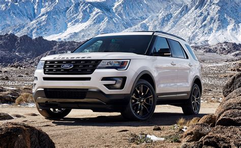ford explorer 2017 2017 ford explorer xlt sport pack is high impact styling