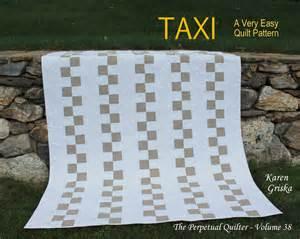 taxi easy quilt pattern modern quilt pattern wedding quilt