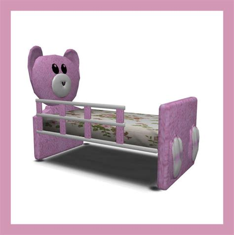 sims 3 toddler bed rebecah s mr bearlybutts toddler bed