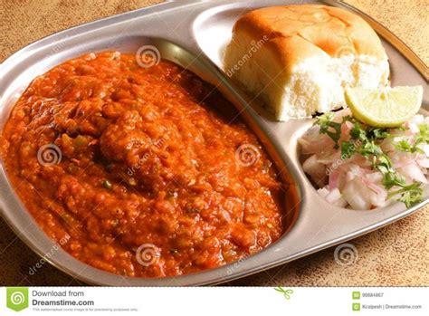 indian food pav bhaji indian food images stock photos