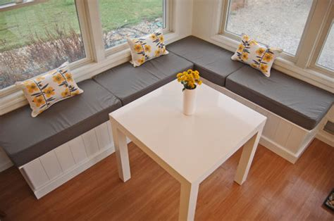kitchen nook bench cushions nook cushions create cozy spots for indoors and outdoors