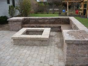 Unilock Wall Installation How To Amp Repairs Building A Fire Pit Step To Build A