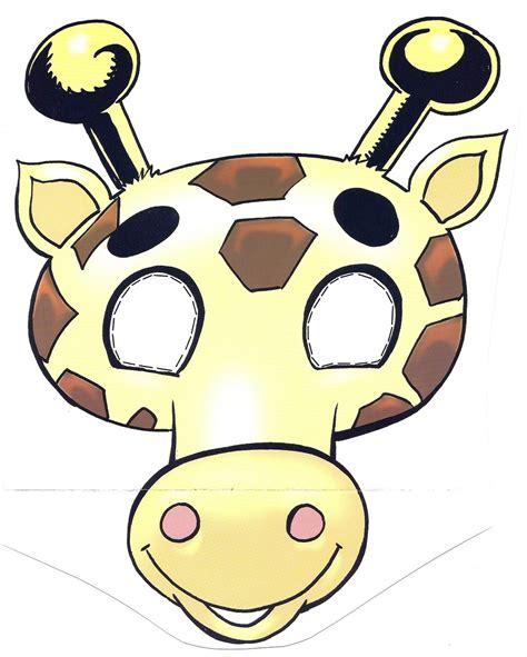 imagenes de jirafas para recortar m 225 scara jirafa manualidades a raudales