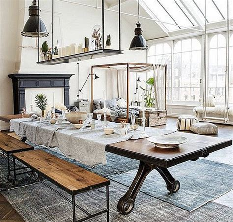 industrial home interior design interior design decoration home decor loft modern