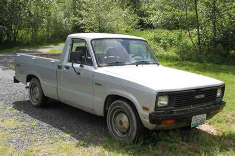 car owners manuals for sale 2000 mazda b series spare parts catalogs 1984 silver mazda b2000 sundowner pick up truck parts or repair as is for sale photos