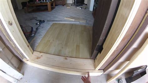 Custom Made Door Frame Youtube How To Build A Exterior Door