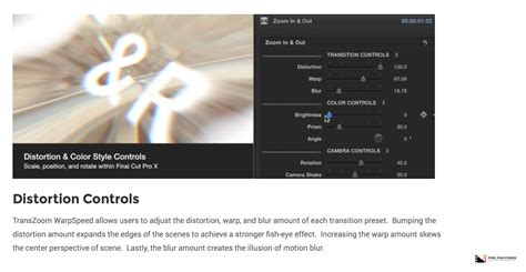 final cut pro zoom transition pixel film studios development team releases transzoom