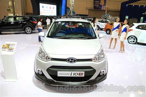Hyundai Avega 2008 hyundai grand i10x front at the 2015 gaikindo indonesia international motor show indian autos