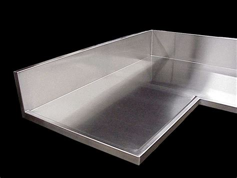 How To Stainless Steel Countertops by Stainless Steel Countertops Seams Finishes Edges
