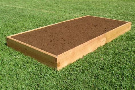 Cedar Boards For Raised Garden Beds by 4x8 Raised Garden Bed Cedar Bed Gardeninminutes
