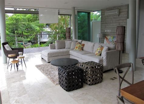 living room a strong clean and eco friendly design eco friendly project in the mexican riviera modern