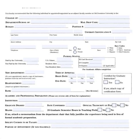 Permission Letter For Ncc Employment Authorization Forms 8 Free Documents In Pdf