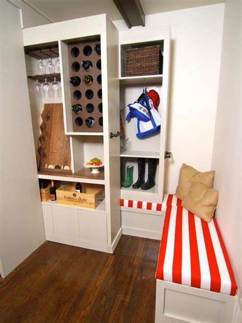 clever ways       small space elbow room hgtv