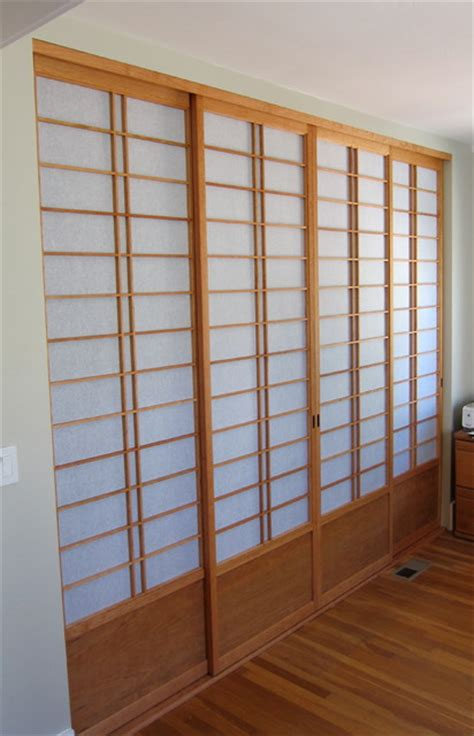 Shoji Screen Closet Doors Custom Shoji Screens Asian Interior Doors San Francisco By Pacific Shoji Works