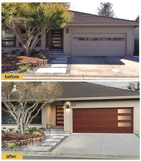 Garage Door Fronts by 159 Best Images About Before And After Exterior Makeovers