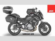 Kawasaki Z650 by GIVI - YouTube Kawasaki Z650