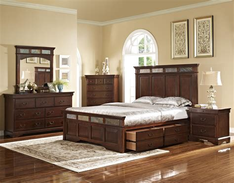 new classic madera bed with slate inserts and