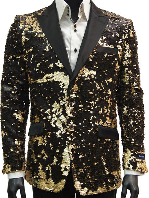 gold pattern blazer mens black matte gold allover sequin pattern dress