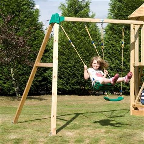 tp double swing tp castlewood double swing arm climbing frames buy