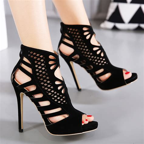 Sandal Sendal Wedges Ysl stiletto heels pumps shoes ankle heels dress shoes