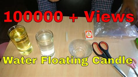 how to make candles at home how to make floating candles at home home made floating