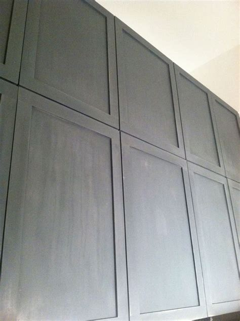 adding trim to flat cabinet doors green notebook diy shaker style cabinets add