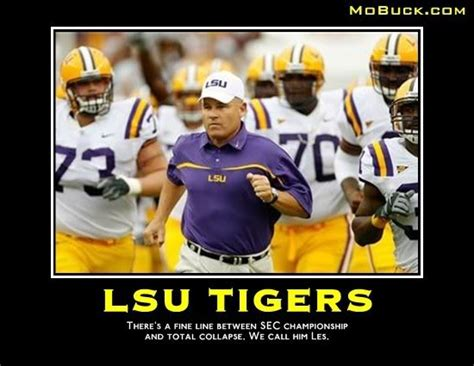 Les Miles Memes - popular lsu football memes from recent years