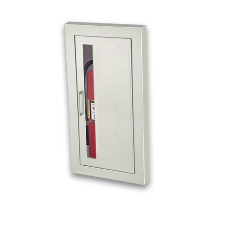 semi recessed extinguisher cabinet jl cosmopolitan stainless steel 1836v10 semi recessed 5