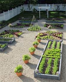Kitchen Garden Design by Potager Garden Design Ideas Plans Layout And Tips For