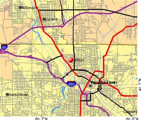 zip code map youngstown ohio 44510 zip code youngstown ohio profile homes