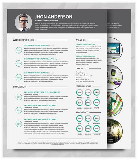 layout portfolio word best professional resume templates psd ai word free