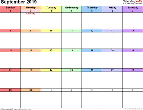 conflict calendar template september 2019 calendar template 2018 calendar printable