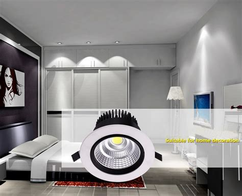 Diskon Downlight Led Cob 9w 220v ce ul dimmable recessed led downlight cob 6w 9w 12w 15w