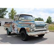 1959 Chevrolet 3100 Apache Short Bed Fleetside Truck