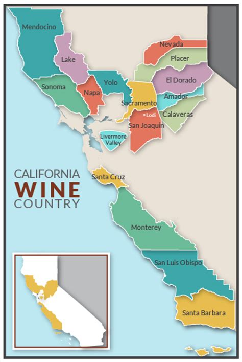 florida wine country guide to northern wineries books california wine map california map