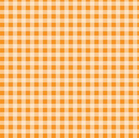 Check Background Checks Orange Gingham Background Free Stock Photo