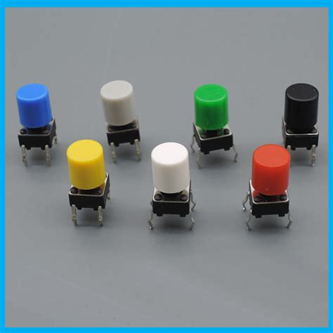 Tactile Switch Push Button 12x12x73mm Free Cap popular tact switch cap buy cheap tact switch cap lots