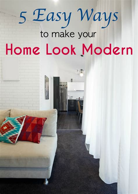 How To Make Your House Look Modern | 5 easy ways to make your home look modern