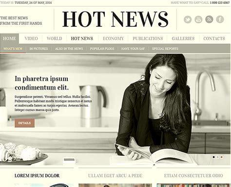 hot bootstrap themes 3 online newspaper template gridgum