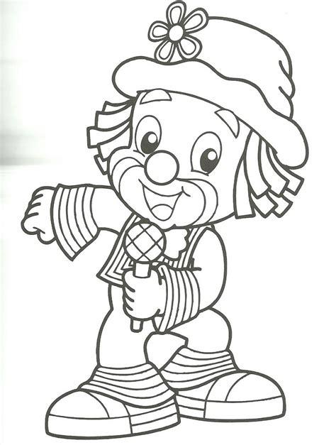 dibujos infantiles para colorear de payasos caras de payasos en dibujos imagui