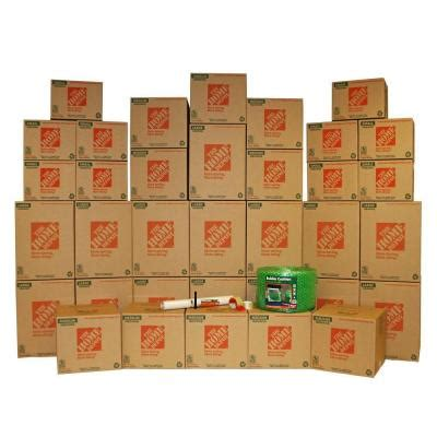 the home depot 35 box medium packing kit 701166 the home