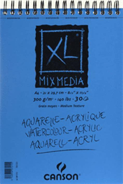 Canson Mixmedia Pad A4 Xl Mix Media Pa canson xl mixed media pads ken bromley supplies