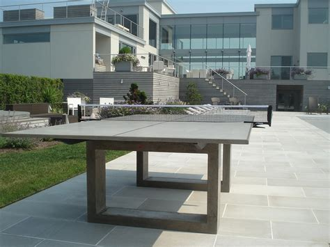 concrete ping pong table concrete ping pong elements misc details