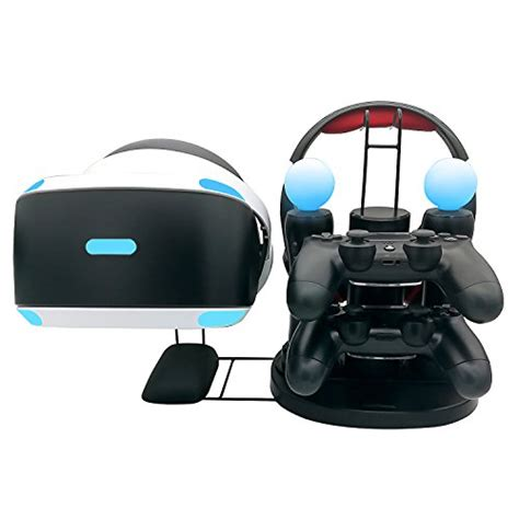 Ps4 Motion Vr With Stand Kaset Rabbids ps vr charger stand fastsnail all in one charging station