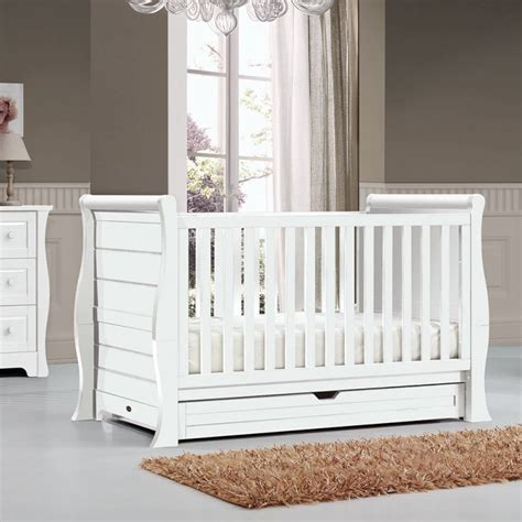 Bebe Care Imperio Baby Cot Crib Toddler Bed White Buy Cots Care Bedding Crib