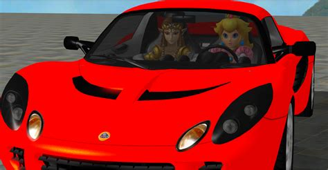 Peach And Zelda In The Car By Amanehatsura On Deviantart